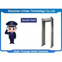 Buy cheap 6 / 12 / 18 Zones Portable Metal Detector UB600 For Security Checking from wholesalers