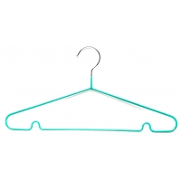 China Ultra Slim Light Weight Multipurpose Compact Chrome Wire Hangers wholesale