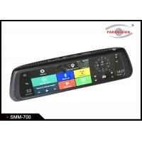Buy cheap Android 5.0 Car Rearview Mirror DVR Full HD 1080P Dual Camera WIFI GPS G-sensor Recycle Recording from wholesalers
