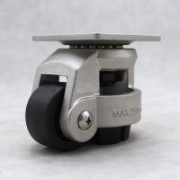 China Heavy Duty Leveling Casters Swivel Mounting 304 Stainless Steel Top Plate wholesale