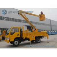 China Aerial Working Platform Articulated Boom Lift Truck With Insulation wholesale
