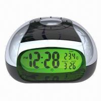 China LCD Talking Alarm Clock in Different Languages for Option on sale