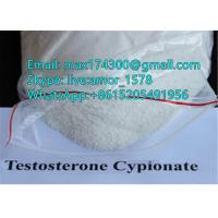China Raw Anabolic Steroids Powder Testosterone Cypionate / Test Cyp For Bodybuilding wholesale