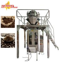 China Vertical Automatic Coffee Bean Packing Machine With Servo Moter For Quad Sealing wholesale