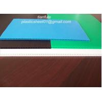 China Polypropylene Pp Twin Wall Corrugated Plastic Sheet /  Board on sale