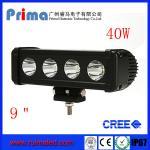 "China 9"" 40W Cree Led Light Bar! Single Row Light Bar for Jeep SUV 4X4 wholesale"