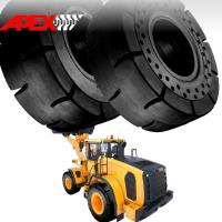 China APEX 29.5-25 Solid Tire, Cushion Tyre for Wheel Loader, Integrated Tool Carrier, Elevating Motor Scraper wholesale