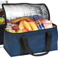 China Customized insulated aluminium foil lining work lunch bag on sale