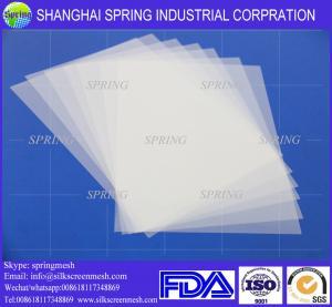 China Transparent Positive Screen Printing Inkjet Film for textile printing/Inkjet Film on sale