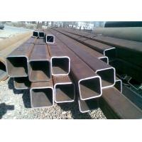 China ERW Galvanised Steel Hollow Square Metal Tubing Low Carbon Q345B Grade wholesale
