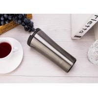 China Classic Double Wall Suction Travel Mug Vacuum Insulated Unspillable Coffee Cup wholesale