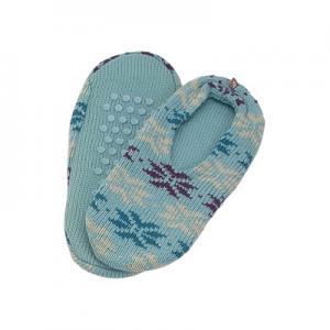 China Home Blue Acorn Slipper Socks , Polyester Spa Comforts Spa Socks on sale