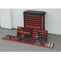 China Red & Black Metal Premium Tool Chest Professional Movable Tool Cabinet wholesale