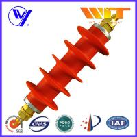 China Professional Switching Red Polymer Surge Arrester 54KV in Substation wholesale