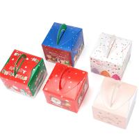 China Rectangle Paper Decorative Christmas Gift Boxes , Christmas Wrapping Paper Box wholesale