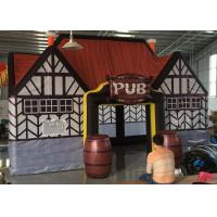 Buy cheap PVC Inflatable Party Tent For Commercial Events / Inflatable Pub Bar from wholesalers