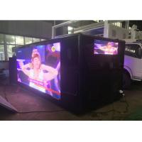 China Advertising Mobile Digital Billboard Truck , P5 / P6 Led Video Truck wholesale