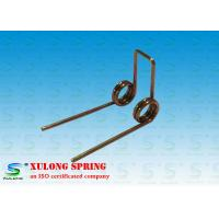 China Professional Zinc Plated Small Torsion Springs , Torsional Springs 0.8MM Wire wholesale