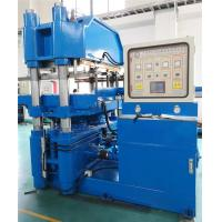 China 4000KN Cylinder Force Plate Vulcanizer Independent PLC Control System Editable Programs wholesale