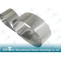 China Cold Rolling Titanium Strip Coil ASTM Standard For Minerals & Metallurgy wholesale