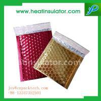 China Colorful Heat Insulation Cold pack foil bubble fresh keeping mailing bag on sale