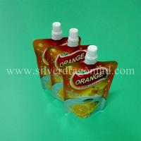 China Food grade stand up pouch with spout for 200ml orange juice Packing( doy packing) wholesale