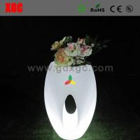 Buy cheap 46 × 46 × 80 cm Colors Changing Waterproof PE Material LED Flower Pots,Decor Flower Pots from wholesalers