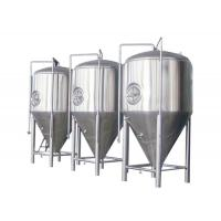 Quality SUS 304 / 316 Conical Beer Fermenter Drinks Beverage Beer Brewing Parts for sale