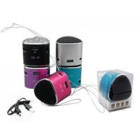 China Portable Rechargeable Mini Speaker For mp3 PC IPOD wholesale