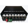 China 1080P HD TVI / CVI / AHD Transmitter Receiver , Fiber Optic To BNC Digital Video Converter wholesale