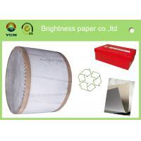 Recycled One Side Coated Grey Back Duplex Board Paper Sheet 787 * 1092mm