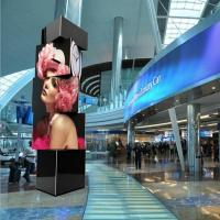 China Square 2.5mm indoor LED Video Walls , Large Advertising LED Cube Display SMD2121 on sale
