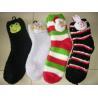 China Soft and Warm Stripy Fuzzy Socks wholesale