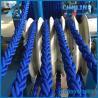 8 Strand blue color Polypropylene floating rope Manufactures