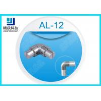 China Aluminum Alloy Joints 90 Degrees Within Joint Sandblasting Internal Connector AL-12 wholesale