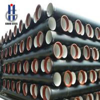 Buy cheap Centrifugal ductile iron pipe-Cast iron pipe,EN545 80mm-1200mm from wholesalers