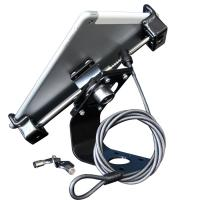 China comer security holder tablet panel computer display mounting wire cable locking wholesale