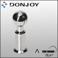 China DONJOY Stainless steel sanitray rotating clamped cleaning ball /spray ball wholesale