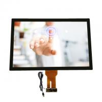 China 32 Inch Capacitive Multi Touch Screen Display Transparent Glass Touch Panel Windows Systems wholesale