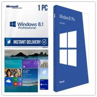 China Operating System Windows 8.1 Professional Key Code Activation Full Version wholesale