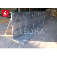 China Stable Stage Metal Crowd Control Barriers Heavy Duty Interlocking Coated wholesale
