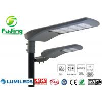 China Hollow Out Structure Led Parking Lot Light Fixtures 100w For Residential Roads wholesale