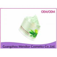 China Mint Extract Green Tea Natural Body Scrub For Skin Exfoliating / Oil Control on sale