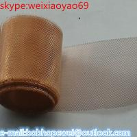 (brass/red/phosphor/bronze) copper wire mesh Manufactures