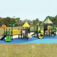 China Outdoor Playground Equipment with CE/TUV/GS/ISO/SGS/EN1176 Marks and One Year Warranty wholesale