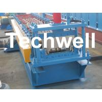 China TW-65-400 Bemo Roof Panel Roll Forming Machine With 0 - 15m/min Speed wholesale