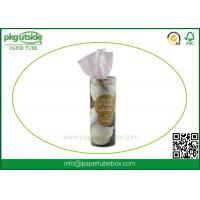 Quality Napkin Round Cardboard Tubes , High End Cardboard Cylinder Containers for sale