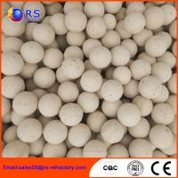 High Strength  Refractory Products Refractory Ball Chemical Stability For Cermaic Plant Manufactures