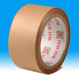 China fiber reinforced hot melt adhesive Kraft paper tape , Reinforced packagingTape on sale