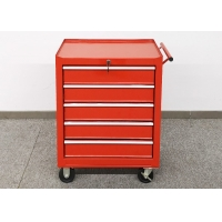 China 616mm 5 Drawer EVA Mat SS 24 Inch Tool Chest  On Wheels Movable wholesale